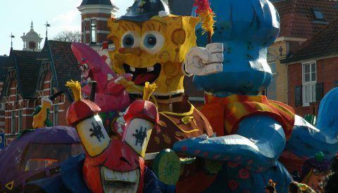 Speciale carnavalsgages artiesten