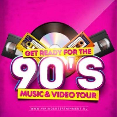 90's Music & Video Tour-boeken