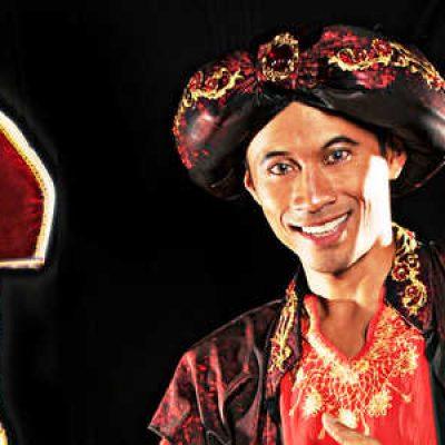 Aladdin Sinterklaasshow-boeken