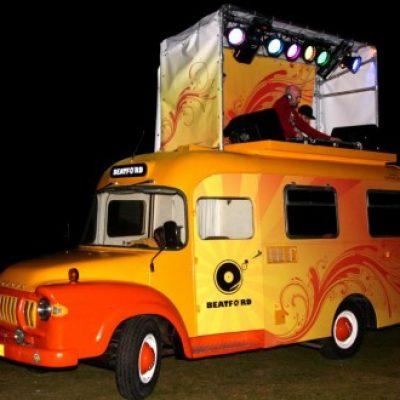 Beatford DJ Truck-boeken