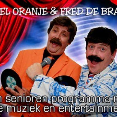 Chiel Oranje & Fred de Braak-boeken