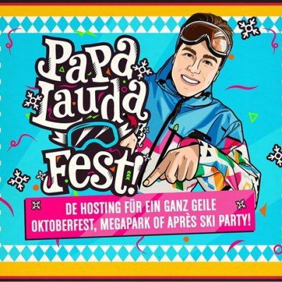 Das Papa Lauda Fest-boeken