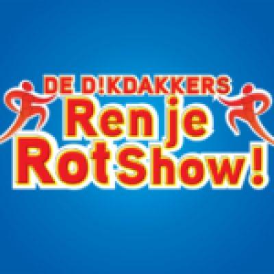 De Dikdakkers Ren Je Rot Show-boeken