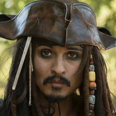 Jack Sparrow Look-a-Like-boeken