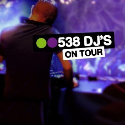 Radio 538 DJs On Tour-boeken