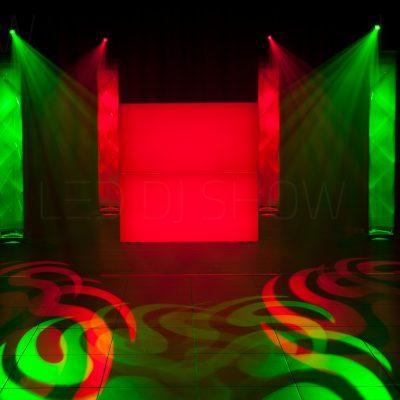Supreme LED DJ Show-boeken