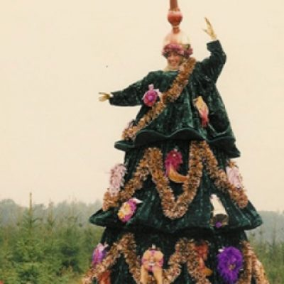 Zingende Kerstboom-boeken